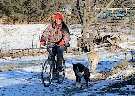 Karen Happy New Year Bicycle Ride 2018-01-01