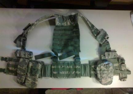M.O.L.L.E. Human Vest with Pouches